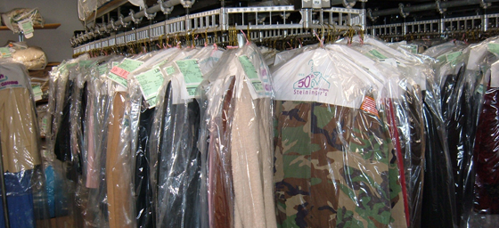 Dry Cleaners and Laundry