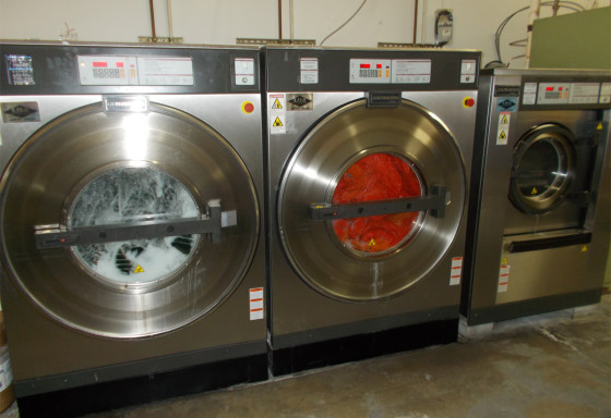 Steiningers Laundry and Dry Cleaning Equipment Added