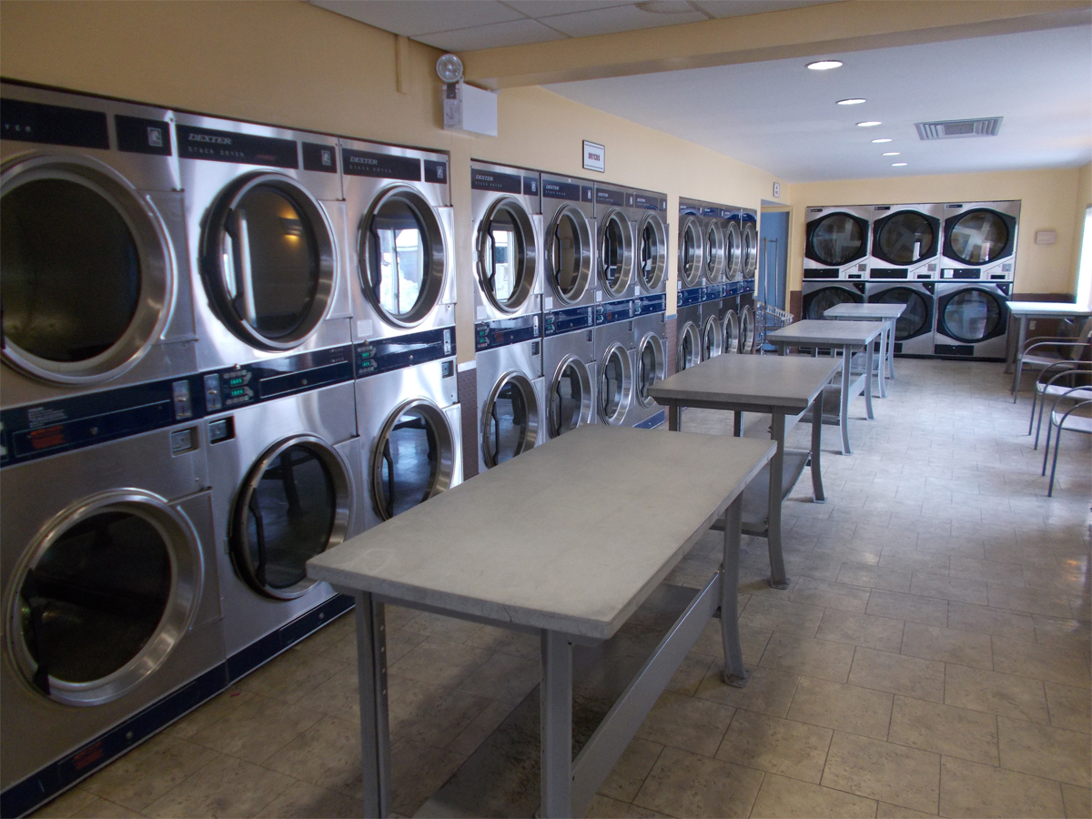 24 hour coin operated laundry steiningers laundry and. Black Bedroom Furniture Sets. Home Design Ideas