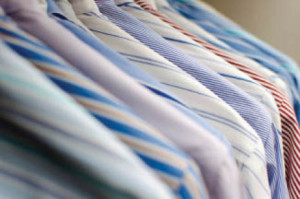 dry cleaning and shirt laundry